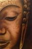Buddha mit blattgold