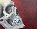 Skull auf Leinwand